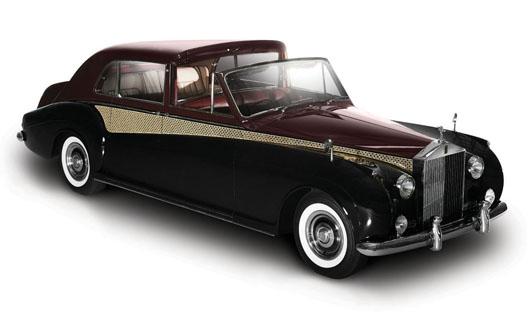 Kyosho 1//43 Rolls Royce Phantom Drophead Coupe DIAMOND BLACK   05532DBK